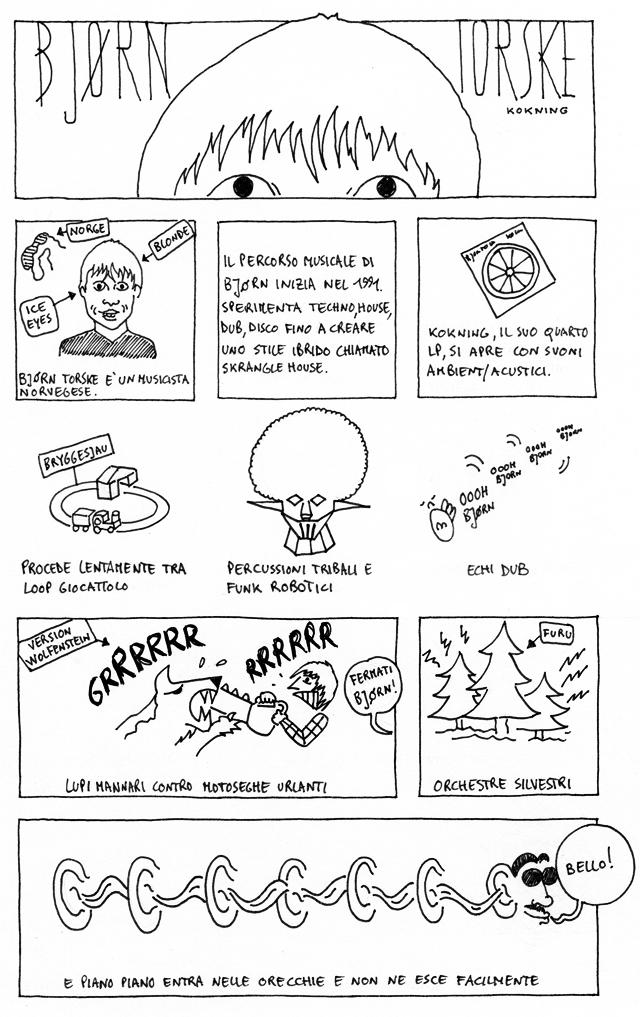 Bjorn Torske su Dischi Disegnati