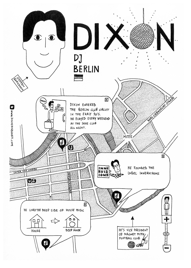 Dixon su Dischi Disegnati
