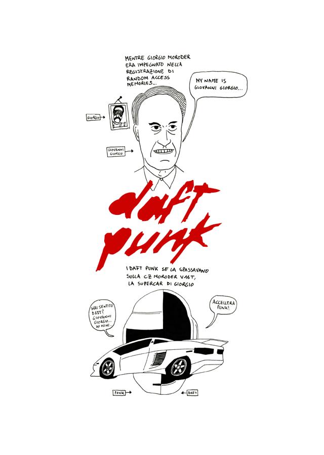 Daft Punk su Dischi Disegnati