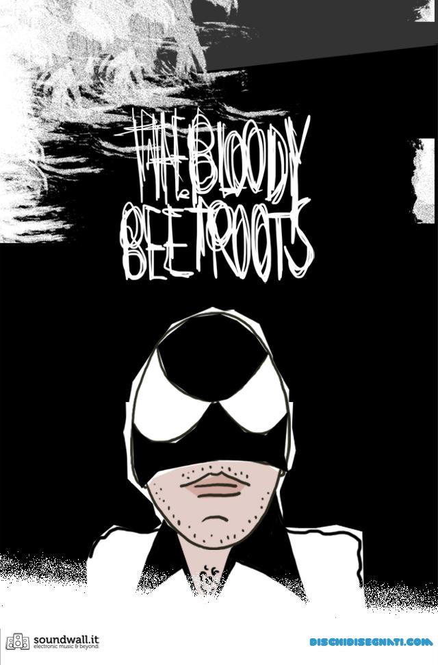 The Bloody Beetroots su Dischi Disegnati